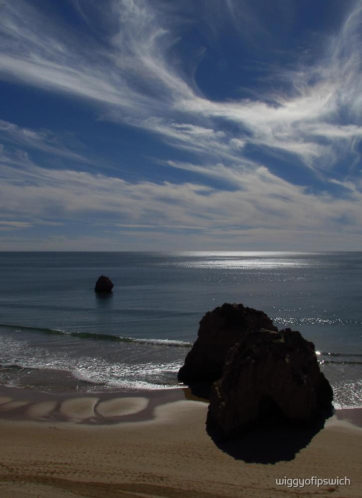 Winter Sunshine, Praia Da Rocha by wiggyofipswich