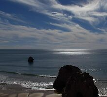 Winter Sunshine, Praia Da Rocha by wiggyofipswich