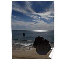 Winter Sunshine, Praia Da Rocha Poster