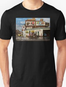 Gas Station - Benton Harbor MI - Indian Trails gas station 1940 T-Shirt