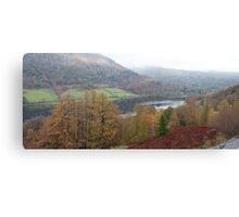 Rydal Water Panorama Canvas Print