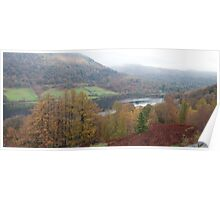 Rydal Water Panorama Poster