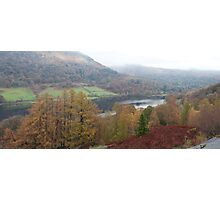 Rydal Water Panorama Photographic Print