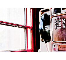 Ring Ring Photographic Print