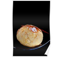 Cheese Cookie With Chili and Salt Grains Poster