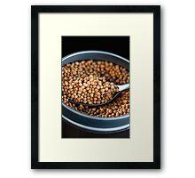 Grain of Mustard Seed Framed Print