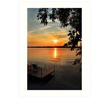 Ontario Sunset Art Print