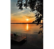 Ontario Sunset Photographic Print