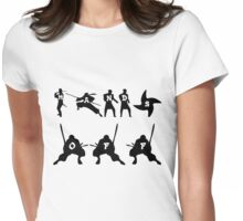 TS114 - HANDS OFF! Womens Fitted T-Shirt