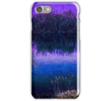 Surreal River Reflection iPhone Case/Skin