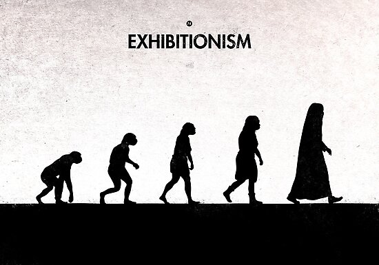 99 Steps of Progress - Exhibitionism by maentis