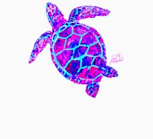 Sea Turtle Pink and Blue T-Shirt
