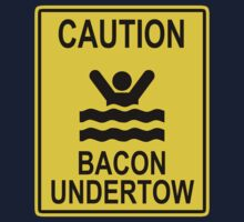 Caution Bacon Undertow One Piece - Short Sleeve