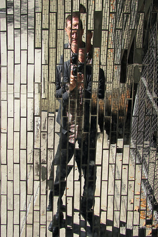 Self-portrait by Mike Shell