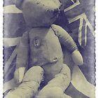 Vintage patriotic Bear 1935 by AndyLanhamArt
