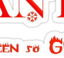 CHRISTMAS TEES - SANTA I'VE BEEN SO GOOD .. SOLD TS101 Sticker