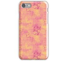 Vintage Purple Butterflies iPhone Case/Skin