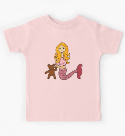 Mermaid Theodora  Kids Tee