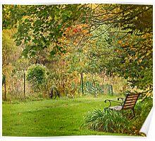 Enjoy Greene Garden Poster