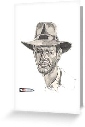 Indiana Jones Portrait by red-esigns