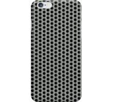 Silvery Metal Mesh iPhone Case/Skin