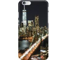 Freedom Tower at Night iPhone Case/Skin