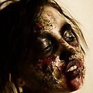 Practice zombie make-up #2 by Kaila Quint