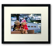 Sad Goodbye Framed Print
