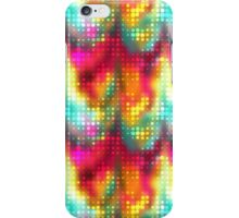 Rainbow Dots Against Colors iPhone Case/Skin