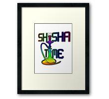 Shisha Time Framed Print