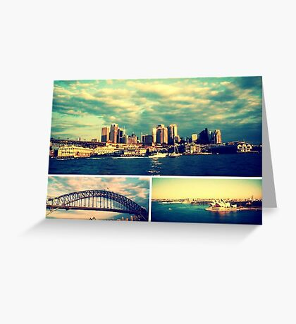 Postcards from Sydney Greeting Card