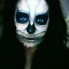 Lady Gaga Born This Way Skull Make-up by Kaila Quint