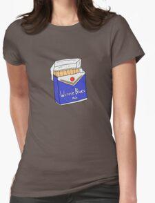 Winnie Blues Mate Womens Fitted T-Shirt