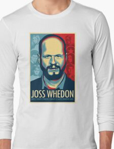 Joss Whedon Is My Master Now Long Sleeve T-Shirt
