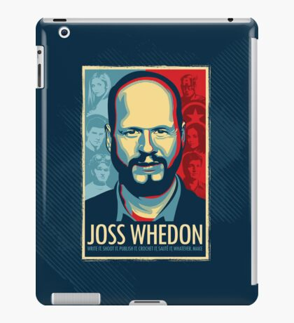Joss Whedon Is My Master Now iPad Case/Skin