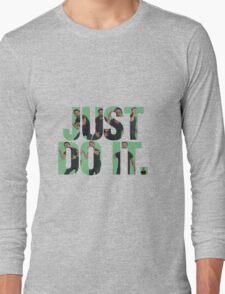 Just Do It - Shia LaBeouf Long Sleeve T-Shirt