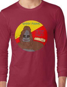 Big Lez Show - Sassy Foods Long Sleeve T-Shirt