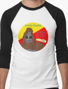 Big Lez Show - Sassy Foods Men's Baseball ¾ T-Shirt