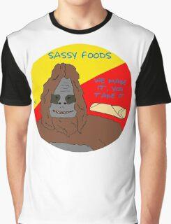 Big Lez Show - Sassy Foods Graphic T-Shirt