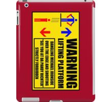 Health And Safety On Mars iPad Case/Skin