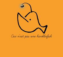 Ceci n'est pas une hanklerfish Womens Fitted T-Shirt