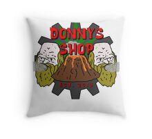 Big Lez Show - Donny the dealer Throw Pillow