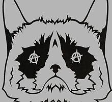Grumpy Anarkitty by crystalpresley
