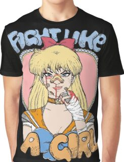 Sailor Moon - Fight Like A Sailor (Sailor Venus) Graphic T-Shirt
