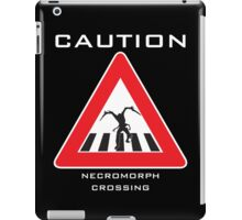 Caution - Necromorph Crossing iPad Case/Skin