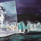 Night in Paris by Catrin Stahl-Szarka