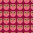 Pink Owls - Phone Case by Louise Parton