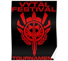 Vytal Fesitval Tournament - Red Poster