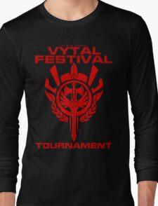 Vytal Fesitval Tournament - Red Long Sleeve T-Shirt