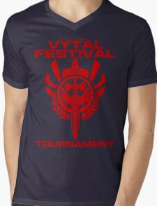 Vytal Fesitval Tournament - Red Mens V-Neck T-Shirt